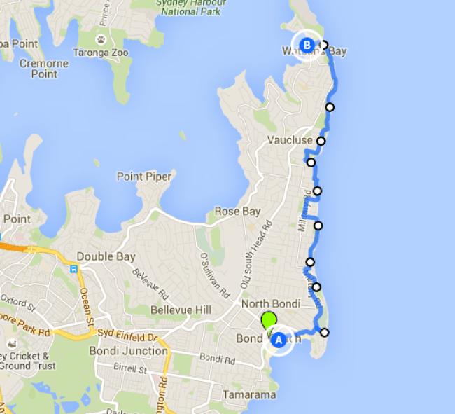 Bondi Beach to Watson's Bay walk- one of the best Sydney walks