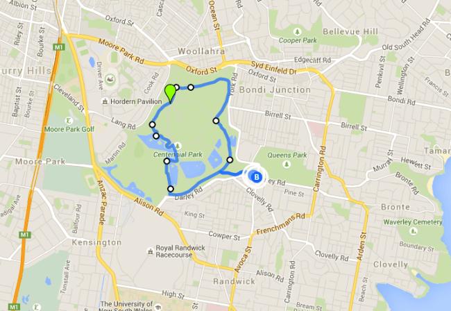 Centennial Park Loop - one of the best Sydney walks