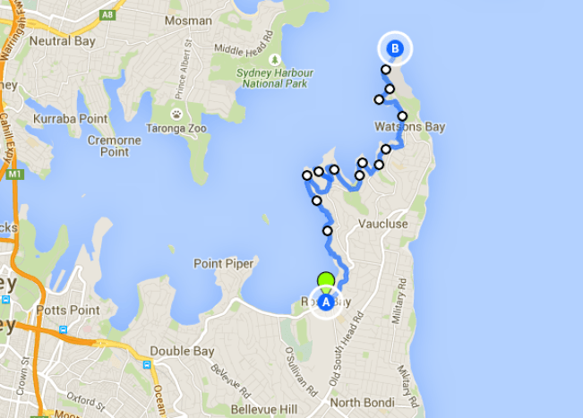 Rose Bay to Hornby Light - one of the best Sydney walks