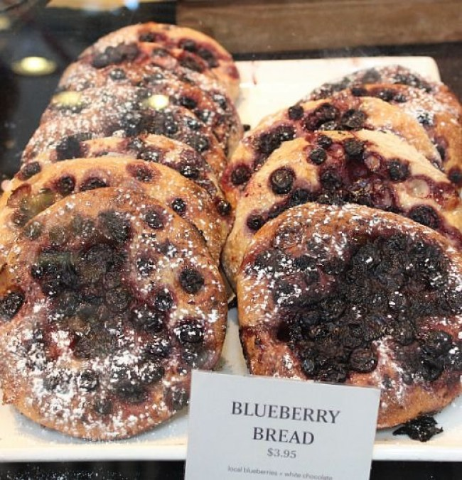 The Best Vancouver Itinerary: 4 Days in Summer. Grab Blueberry Bread from Terra Breads as part of a picnic during summer in Vancouver