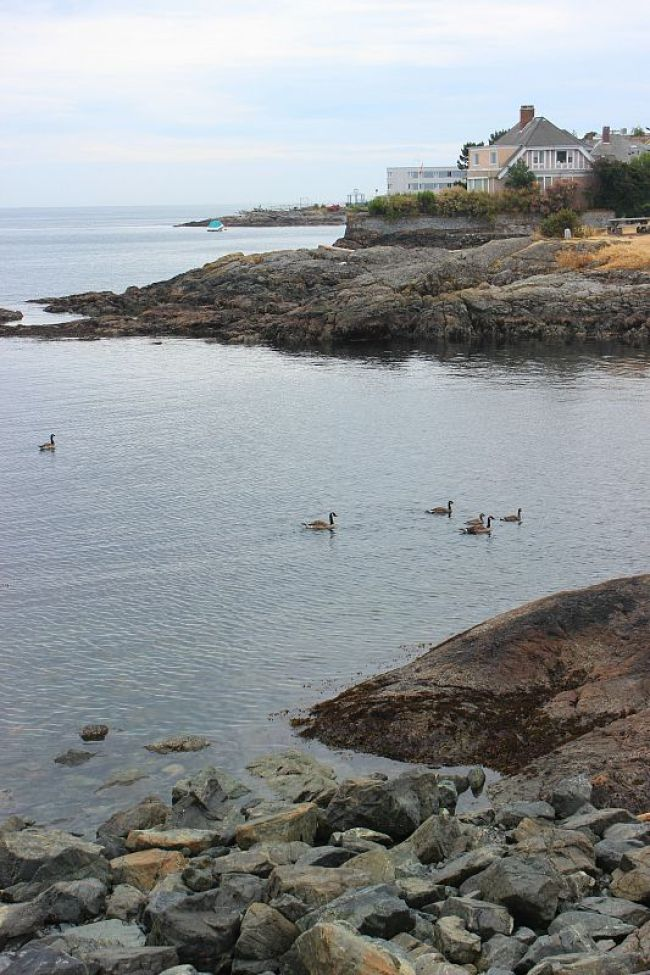 Victoria, Canada waterfront
