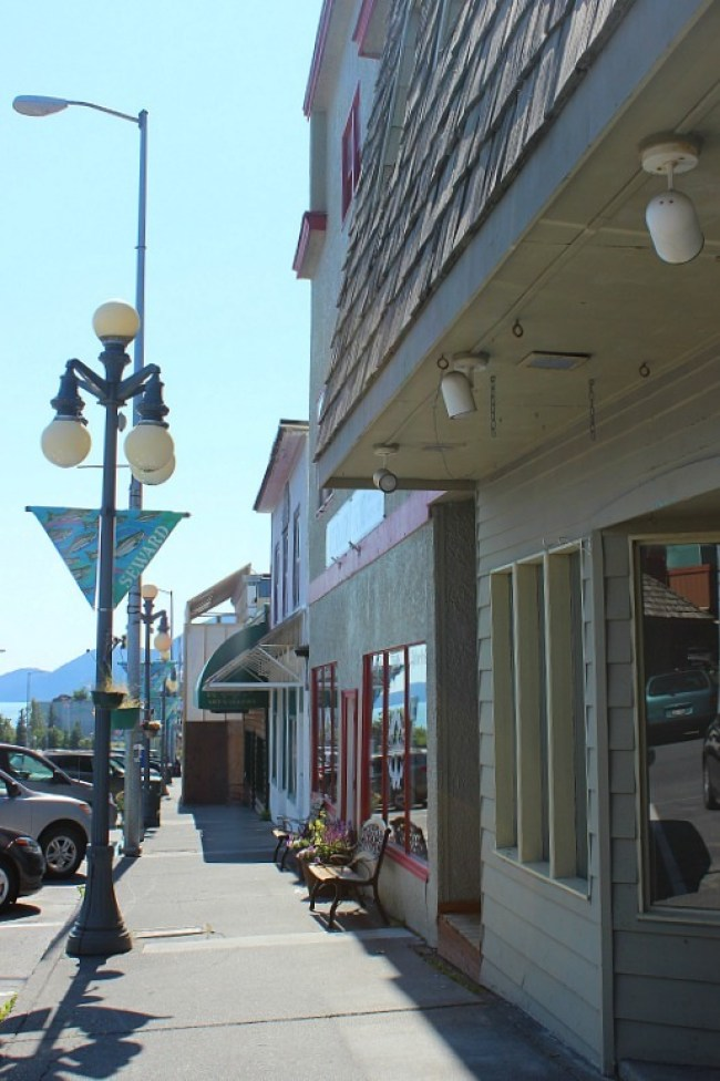 Downtown Seward Alaska