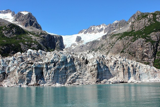 Glacier in Kenai Fjords National Park, Alaska