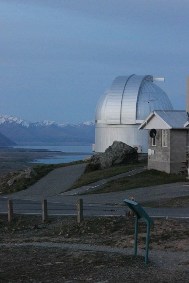 Stargazing at Mt St John Observatory during month five of digital nomad life