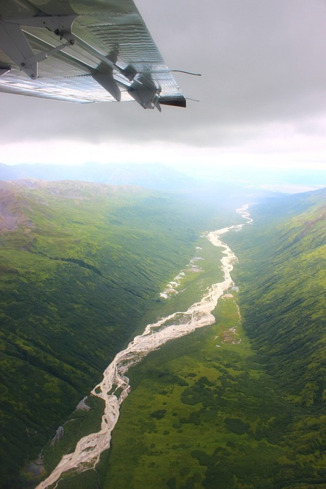 The Great Gorge from a Denali Flightseeing Tour