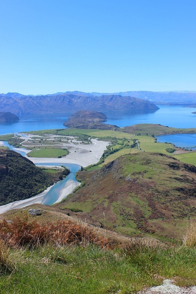 View over Wanaka during month five of digital nomad life