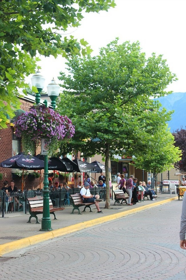 Beautiful downtown Revelstoke