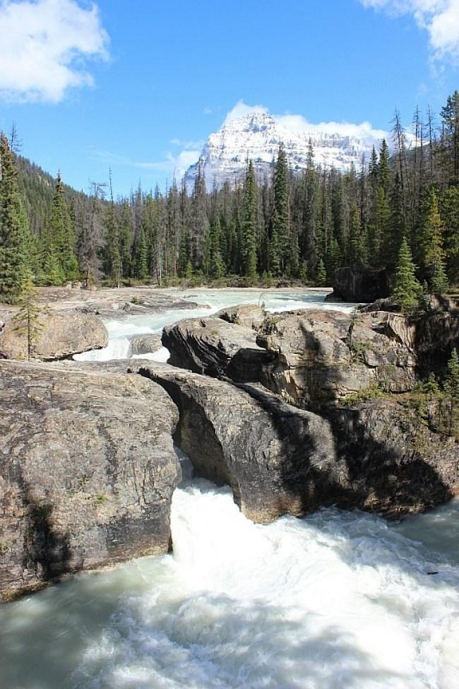 Natural Bridge in Yoho National Park, Canada
