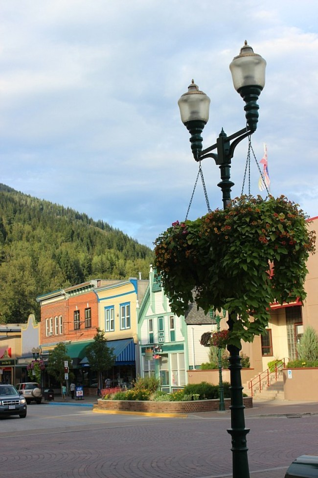 Picturesque Revelstoke in British Columbia Canada