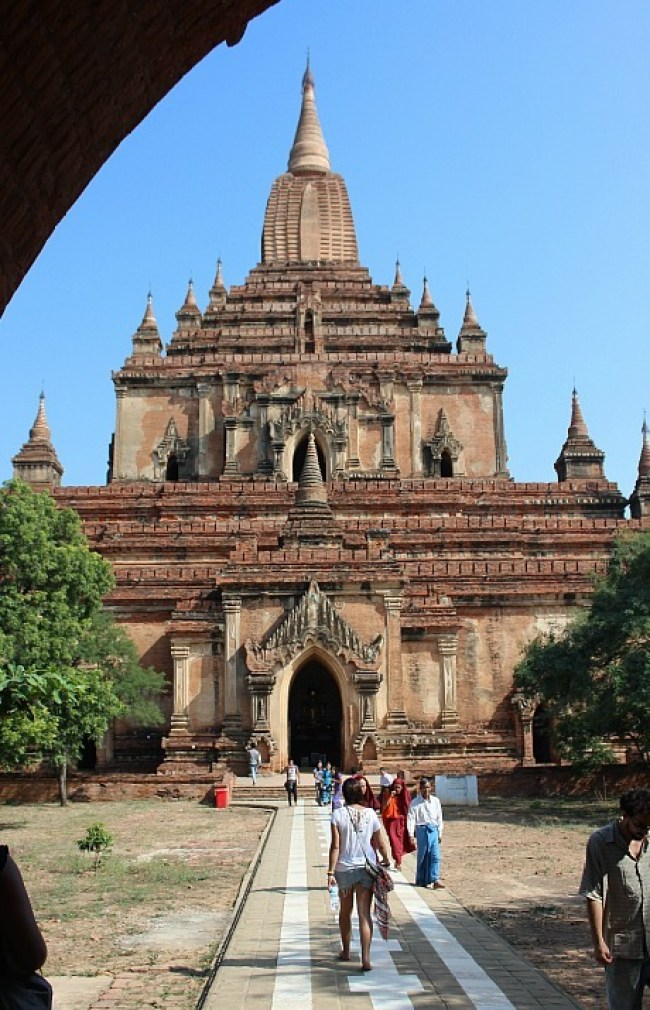 Visiting Sulamani Pahto in Bagan during month six of digital nomad life