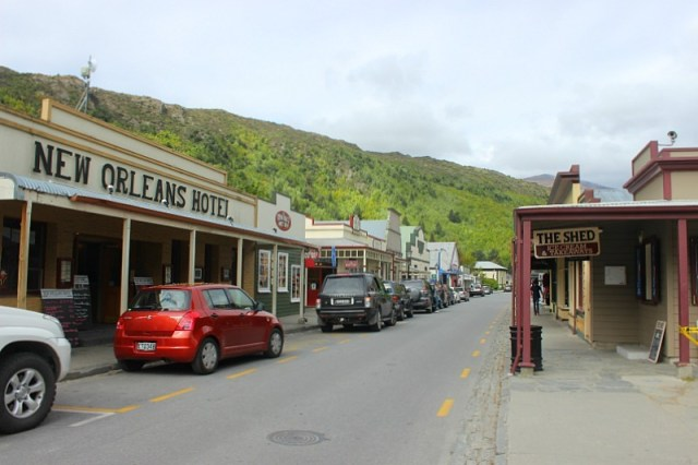 Downtown Arrowtown in New Zealand's Otago Region