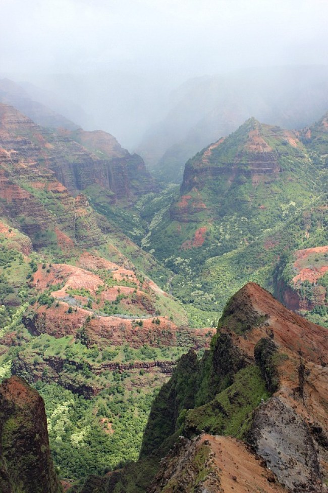 Moody Waimea Canyon on Kauai, the Garden Island