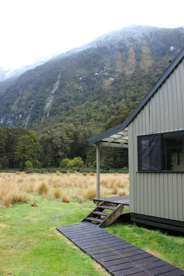 Iris Burn Hut on the Kepler Track
