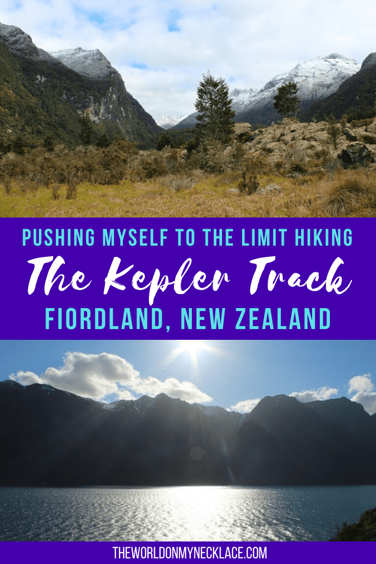 Pushing myself to the limit on the Kepler Track