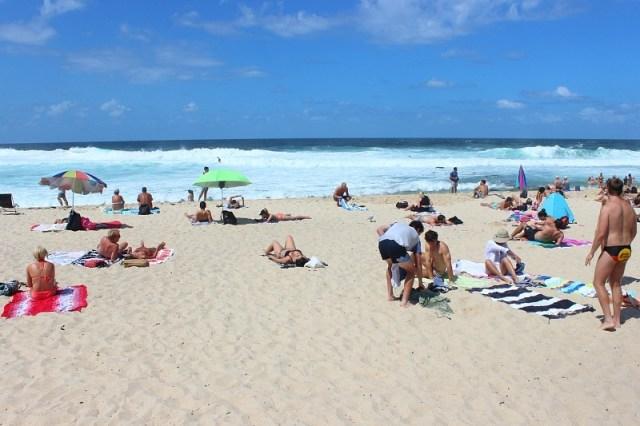 Sydney beach hopping during month nine of digital nomad life