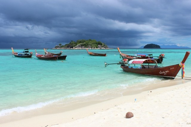 Moody skies over Koh Lipe
