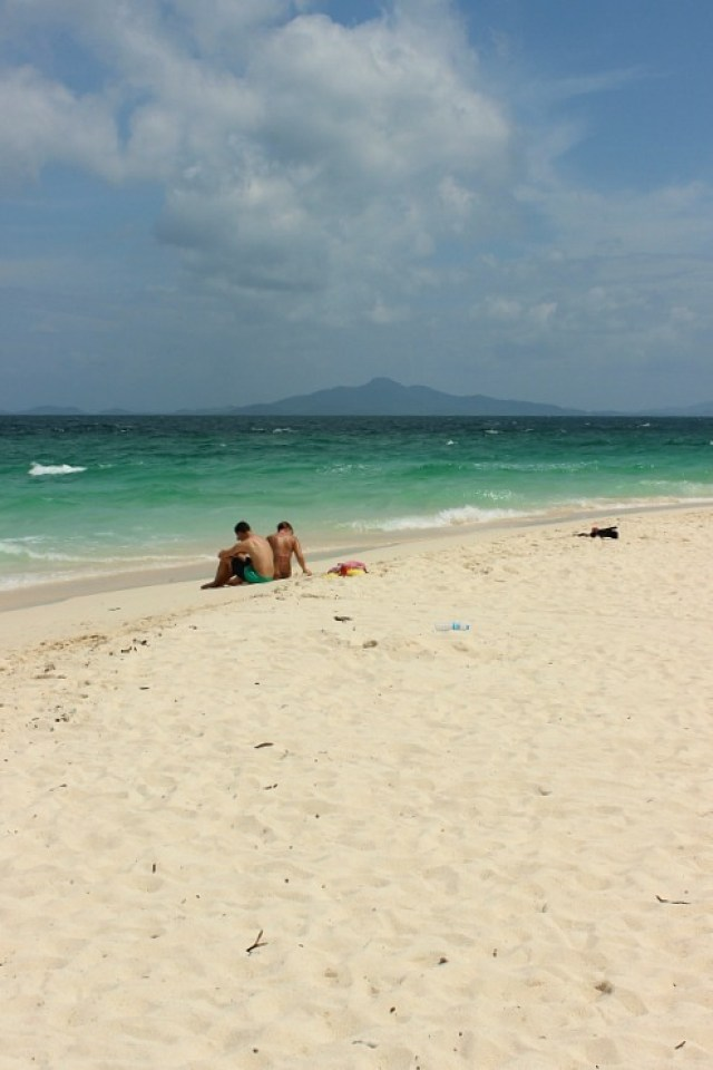 Bamboo Beach, one of the stops on our Koh Phi Phi Island Tour