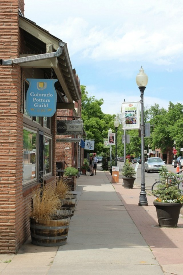 Visiting South Pearl Street in Denver during month 12 of digital nomad life