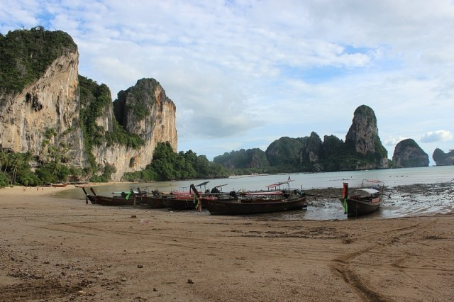 Tonsai beach, around the bay from Railay Beach