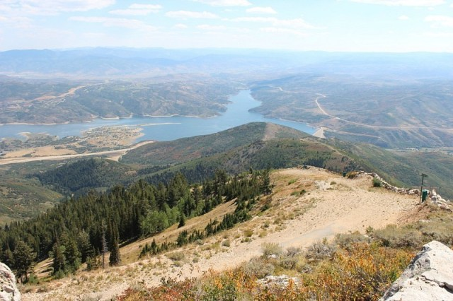 hiking-in-the wasatch mountains during month 15 of digital nomad life