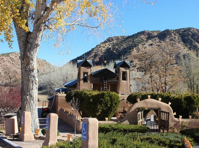 Santuario de Chimayo in New Mexico - visited during month 17 of digital nomad life