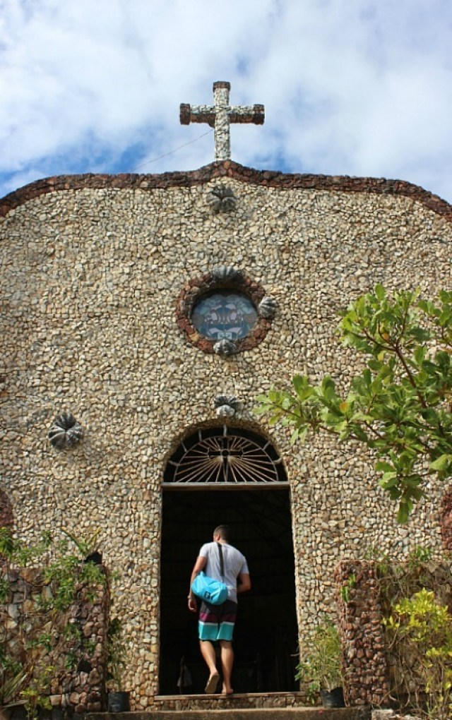 small-church-on-busuanga-island near Coron