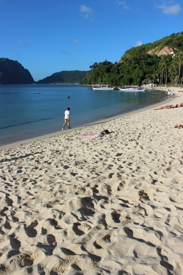 Beach in El Nido, Palawan - Avatar's Pandora come to life in the Philippines