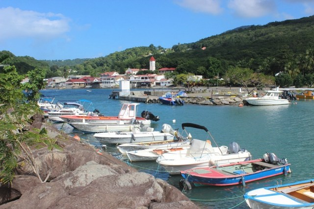 Christmas in Deshaies on island of Guadeloupe - visited during month nineteen of digital nomad life