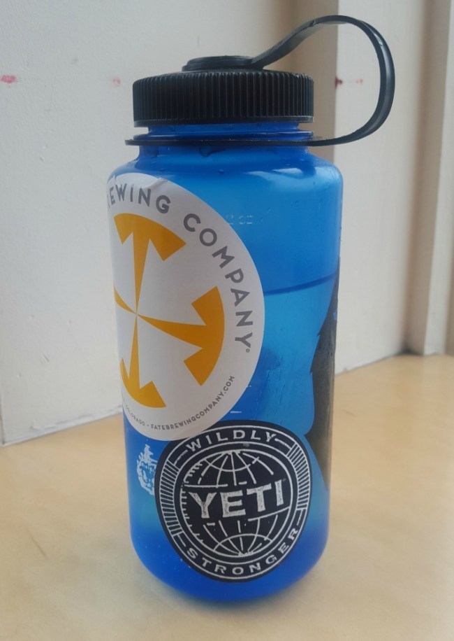 Taking a reusable drink bottle on your travels is a great way to become a green traveller