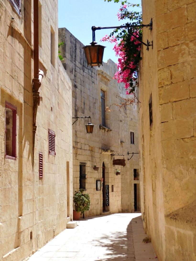 The streets of Mdina in Malta are so photogenic