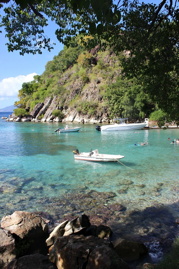 Beautiful Pain du Sucre beach on Les Saintes: The French Caribbean Islands that time forgot
