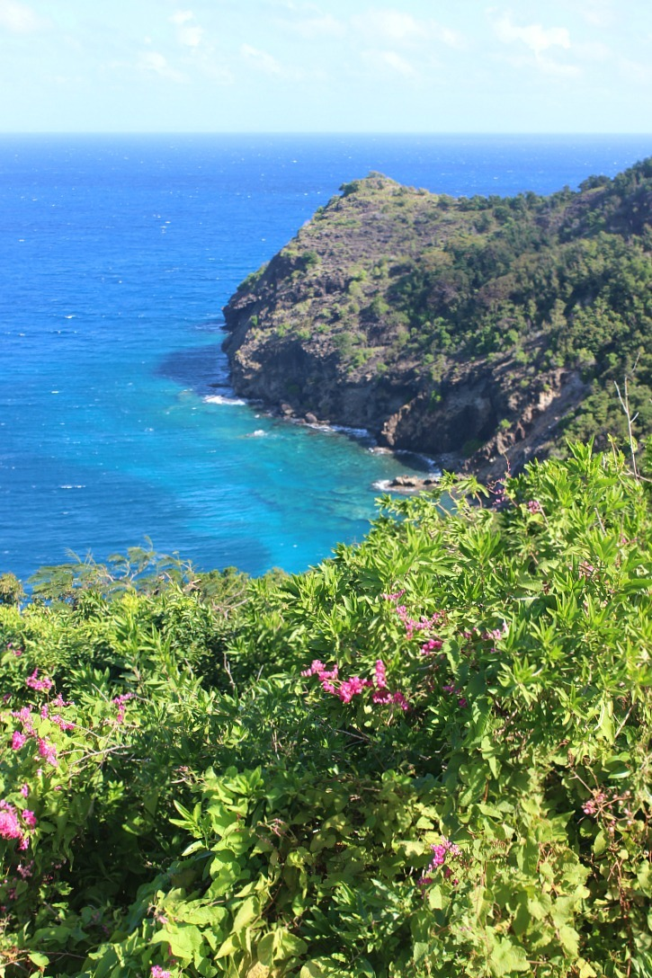 Incredible sea views on Les Saintes: The French Caribbean Islands that time forgot