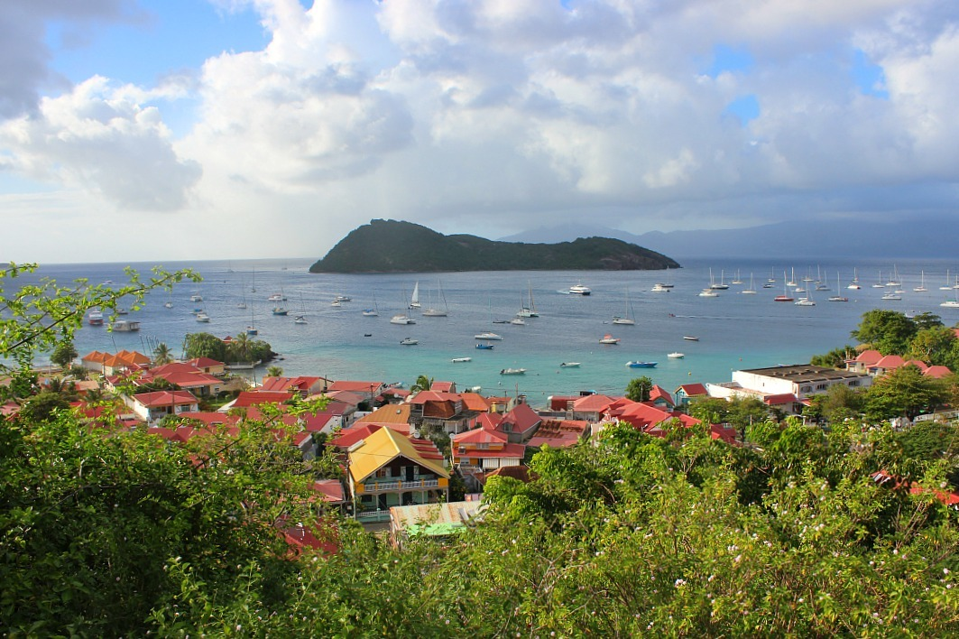 Incredible views on Les Saintes: The French Caribbean Islands that time forgot