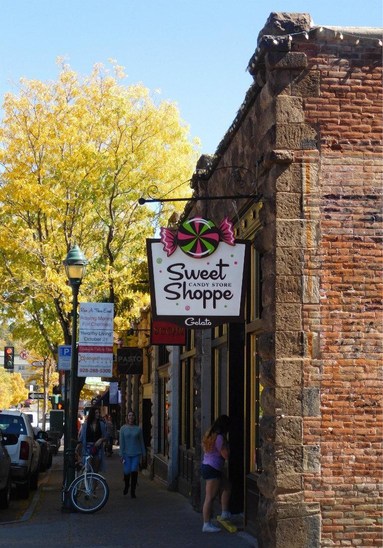Enjoying the fall colors in Flagstaff, Arizona during Month Twenty Eight of Digital Nomad Life