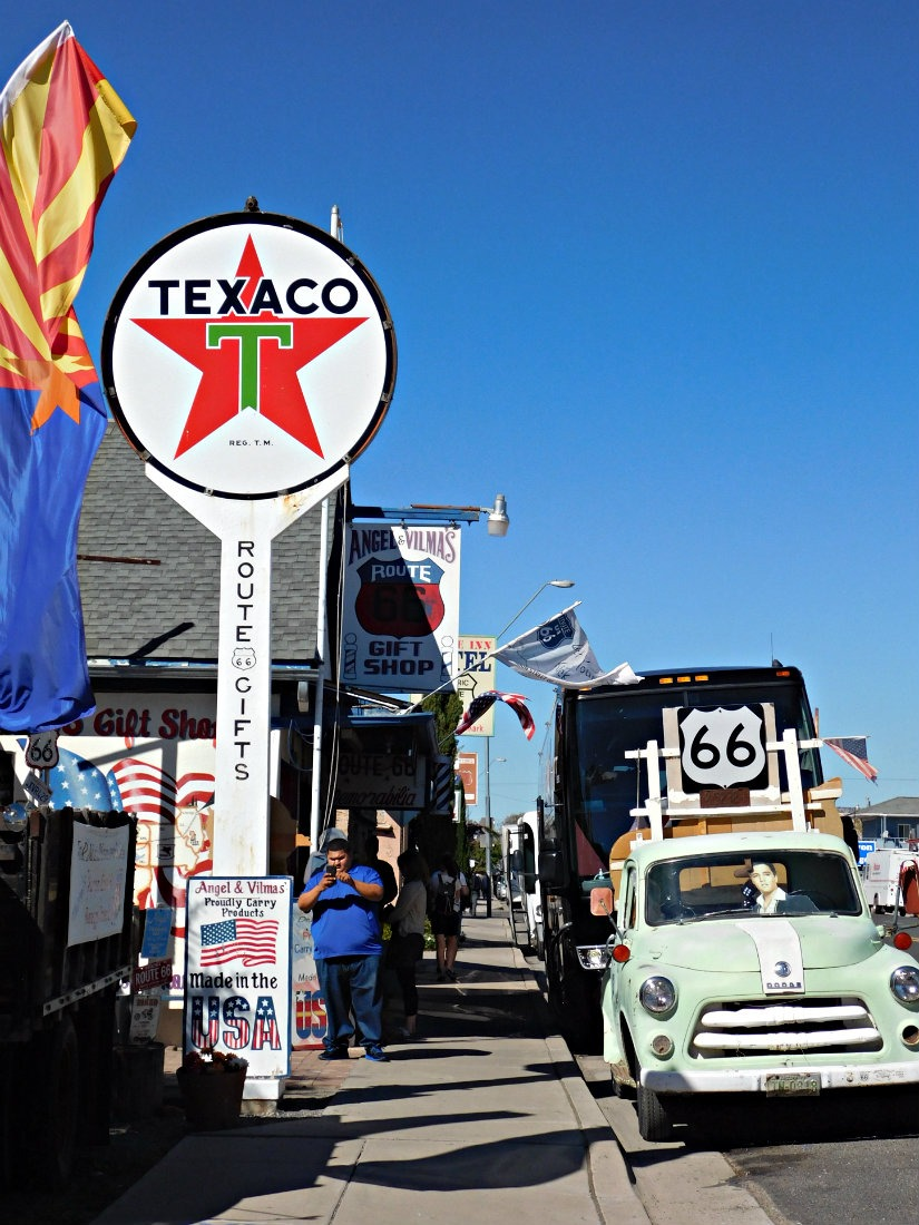 Soaking up the kitschiness of Route 66 in Seligman, Arizona during Month Twenty Eight of Digital Nomad Life