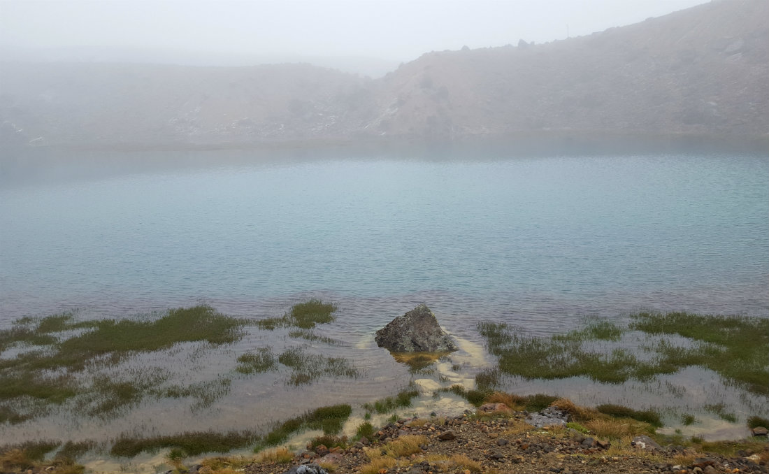 Emerald Lakes on the Tongariro Northern Circuit