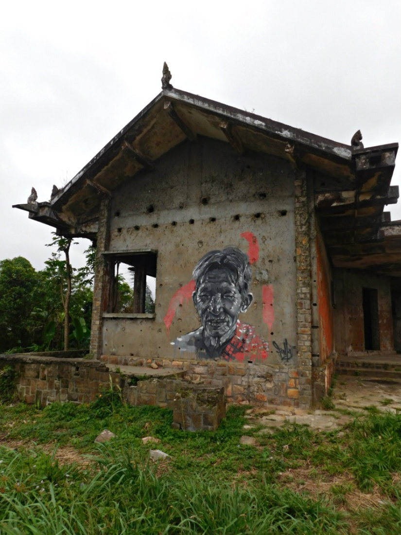 Exploring the ruins at Bokor Hill Station is one of the best things to do in Kampot Cambodia