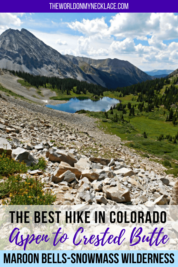 Tackling the hike from Aspen to Crested Butte: The Best Hike in Colorado