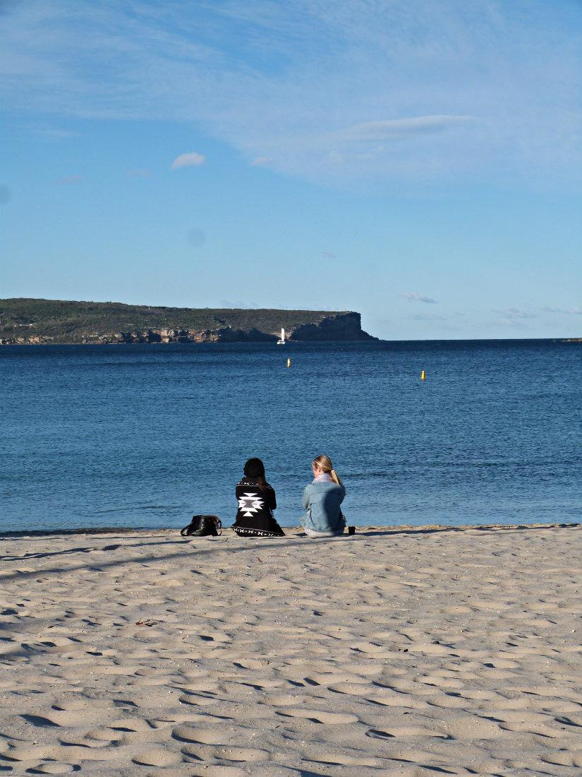 Visiting Balmoral Beach in Mosman in Sydney
