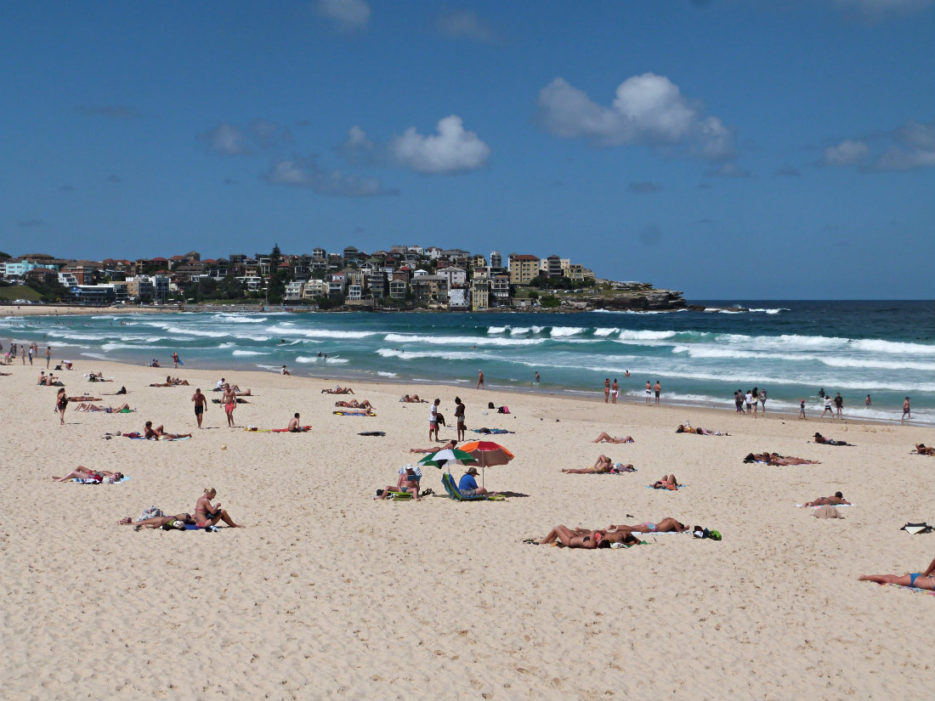Visiting Bondi Beach is a Sydney must do