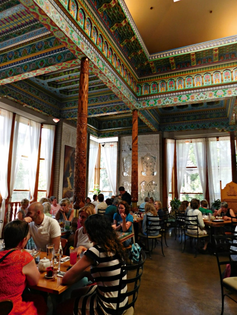 Boulder Dushanbe Teahouse in Colorado