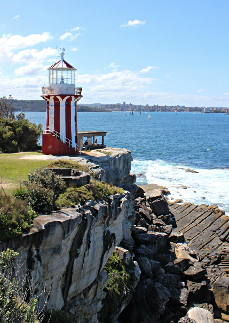 Hiking to Hornby Lighthouse from Watsons Bay in Sydney
