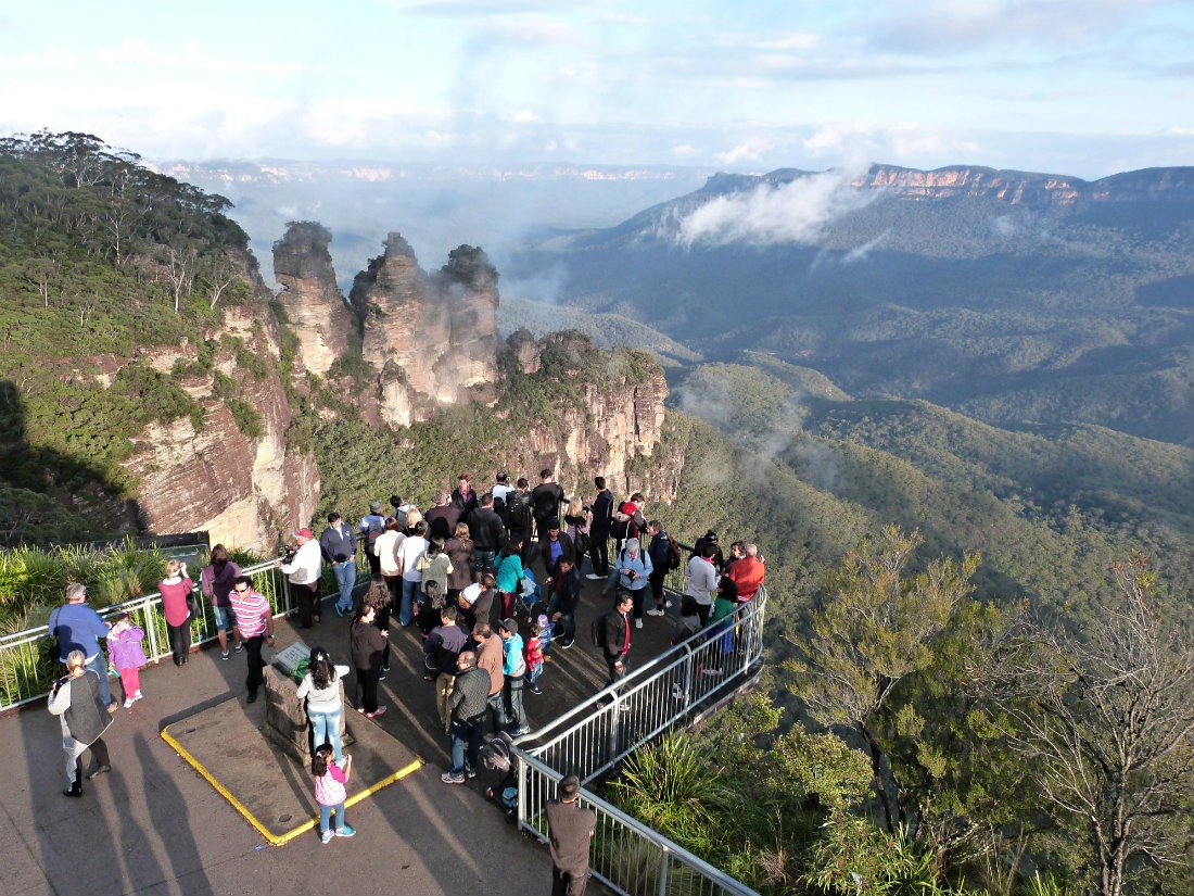 The Three Sisters in the Blue Mountains. A day trip away from Sydney.