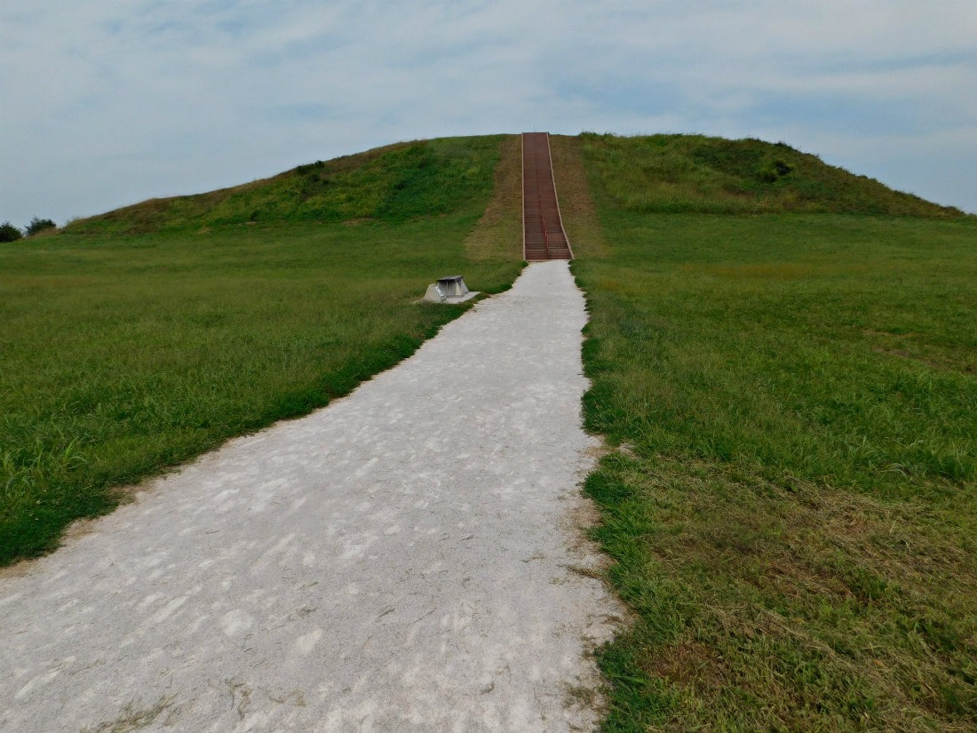 Cahokia Mounds State Historic Park in Illinois