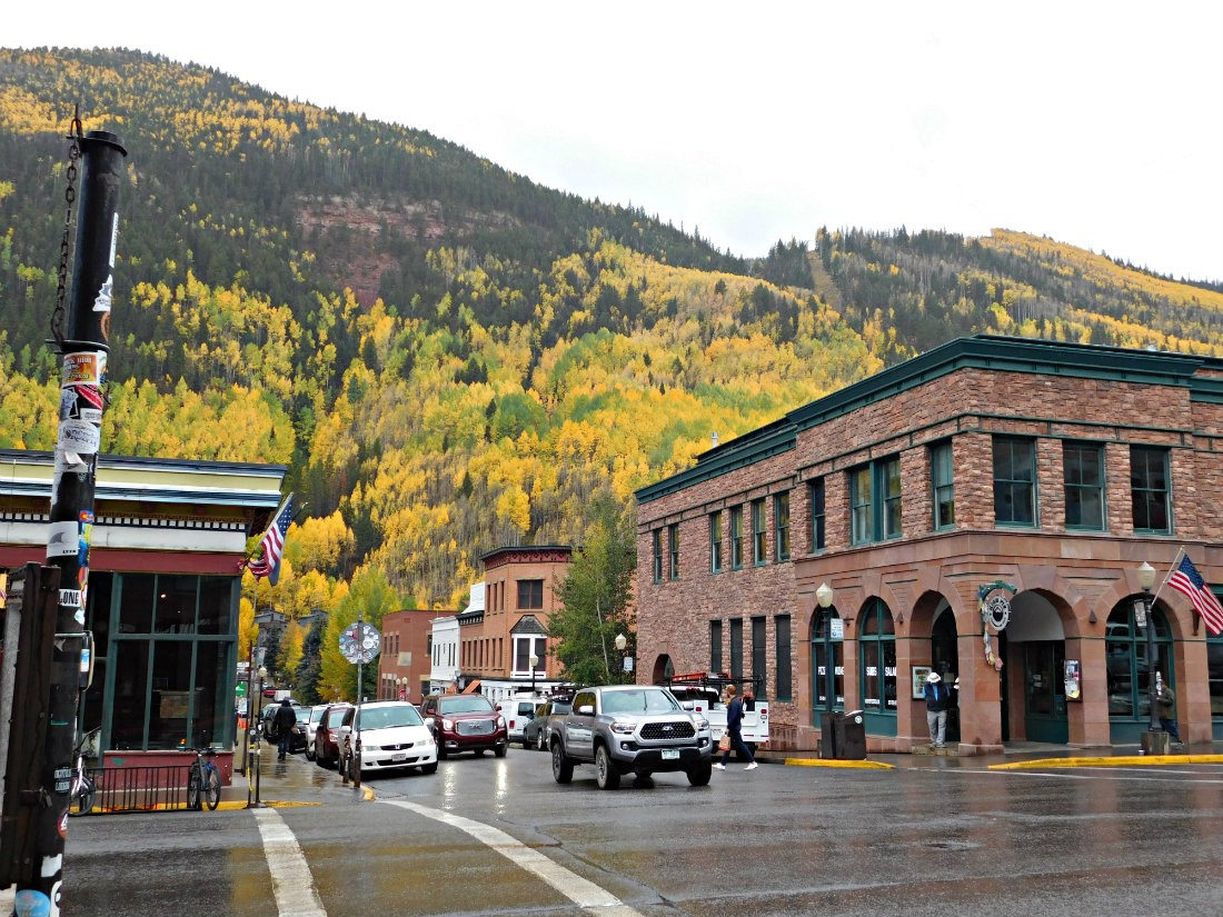 Visit Telluride, Colorado in fall