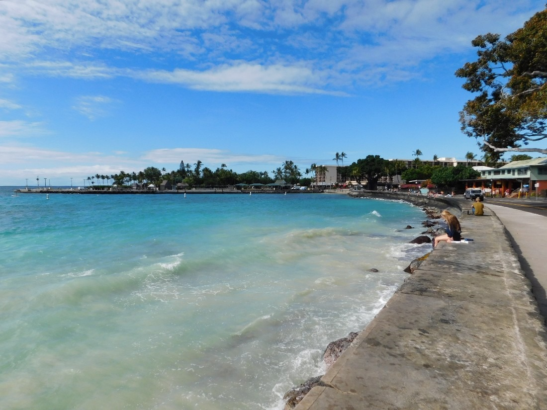 Kailua-Kona town is a highlight of any Big Island Hawaii Itinerary