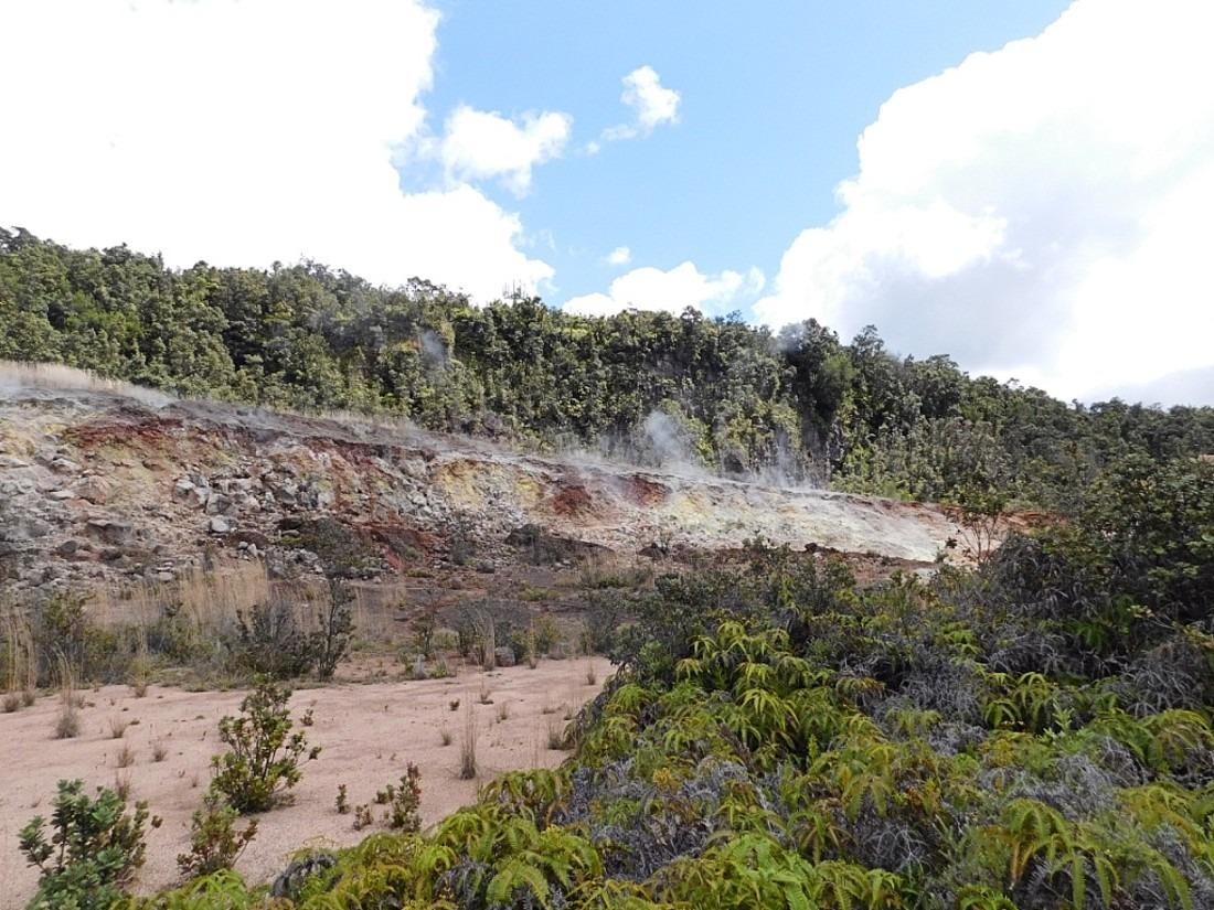 Sulphur Banks in Hawaii Volcanoes National Park