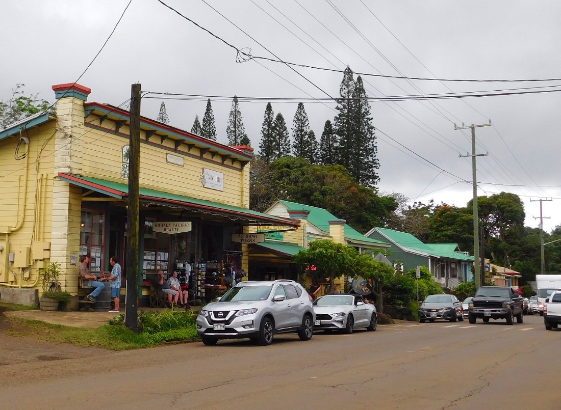 Hawi in North Kohala is a must for your Hawaii one week itinerary