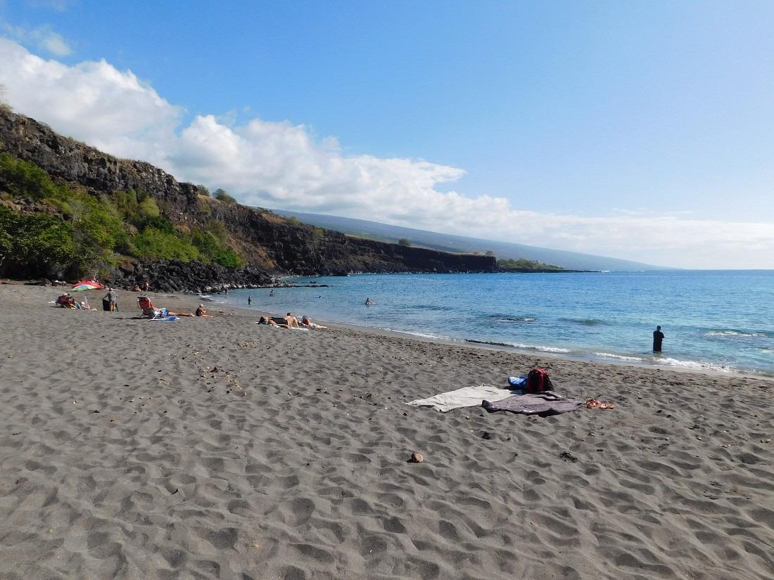 Ho'okena Beach in South Kona - a highlight of my one week in Hawaii