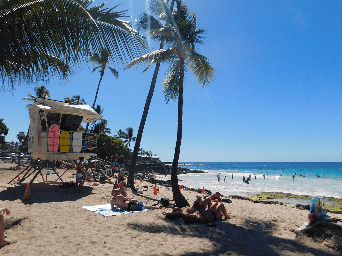 Magic Sands Beach is one of the best beaches on the Big Island